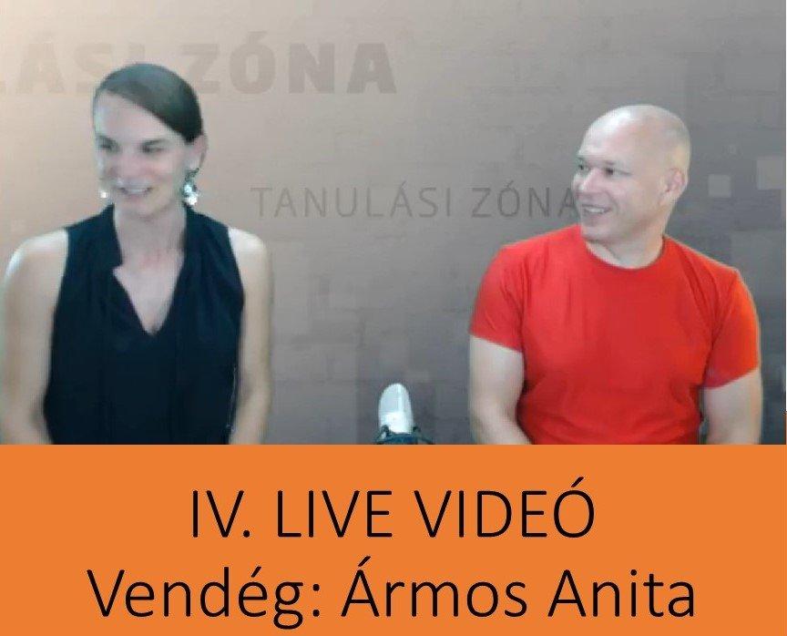 IV. LIVE: Ármos Anitával